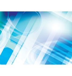 abstract light blue background with parallel lines vector image