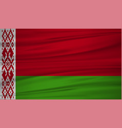 belarus flag belarus flag blowig in the wind eps vector image