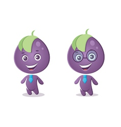 business grapes vector image