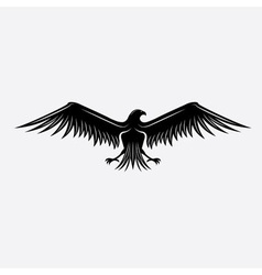Eagle design template vector