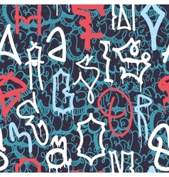 Graffiti Abstract pattern vector image