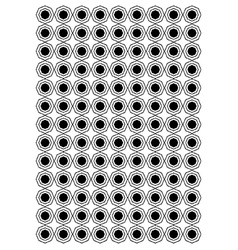 Octagon block pattern vector