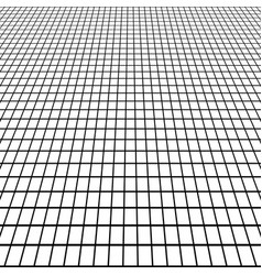 Perspective grid view at an angle background vector
