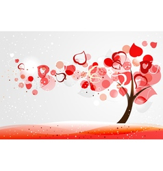 Valentine tree vector