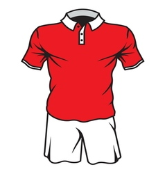 football soccer jersey5 resize vector image vector image
