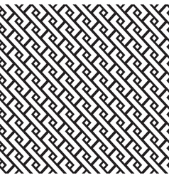 geometric pigtail pattern vector image