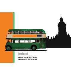 ireland tour vector image