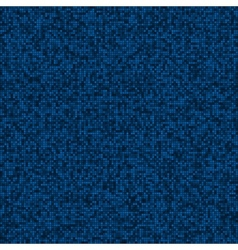 Abstract digital blue pixels seamless pattern vector