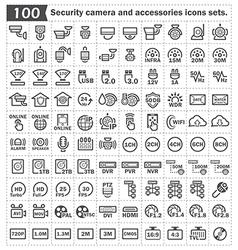 camrra security icon vector image