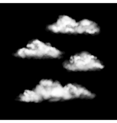 Clouds Set vector image
