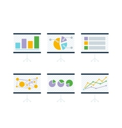 Data Tools Finance Diagramm and Graphic vector