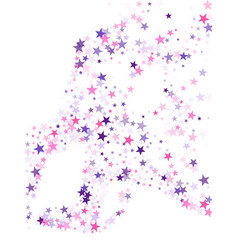 fireworks sparkles festival symbols vector image