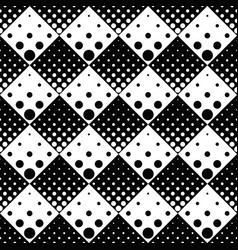 monochrome abstract seamless geometrical dot vector image