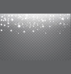 Neon glitter particles background effect vector