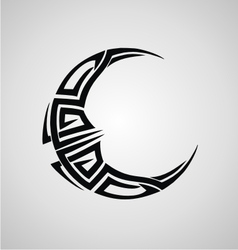Tribal Moon vector image