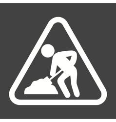 Work In Progress Sign Board vector