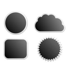 Board labels vector image vector image