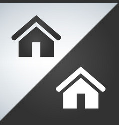 home icons light and dark version vector image