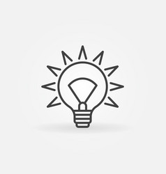 idea concept icon vector image vector image