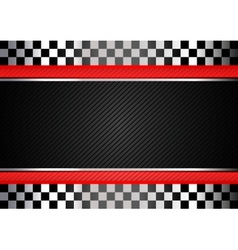 Racing black striped background vector image vector image