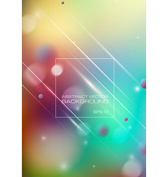 Abstract blurred colorful background vector