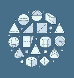 Geometry and mathematics vector