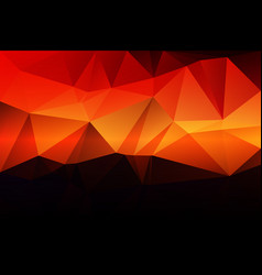 Purple orange yellow red brown low poly background vector