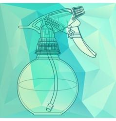Spray trigger atomizer sprayer vector