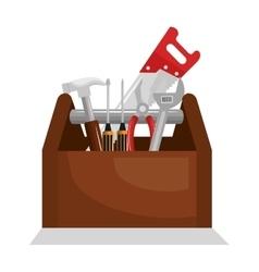 tools kit equipment icon vector image