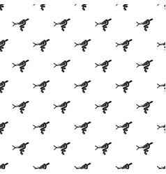 tree snake pattern seamless vector image
