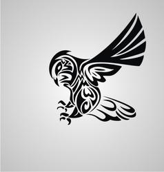 Tribal Owl vector image