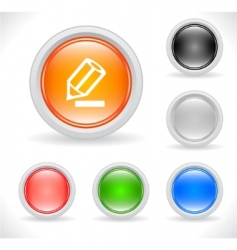 webiste template icons vector image vector image