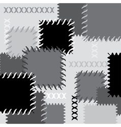 background patches vector image vector image