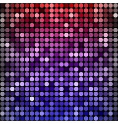 Abstract rainbow circles seamless pattern vector
