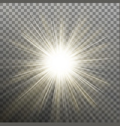 Bright shining star bursting explosion vector