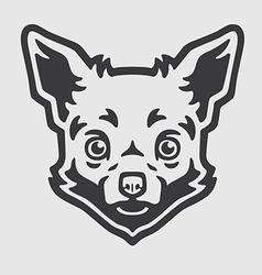 Chihuahua Head Logo Mascot Emblem vector