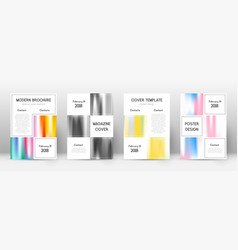 Flyer layout business sublime template for brochu vector