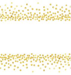 gold dots1 vector image