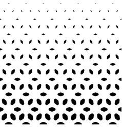Halftone pattern vertical falling rhombuses vector