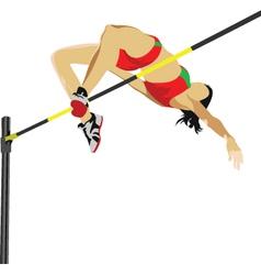High jumper vector