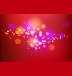Red light holiday background vector