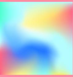 Soft colorful liquid backdrop vector