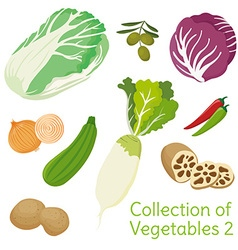 Vegetables 02 vector