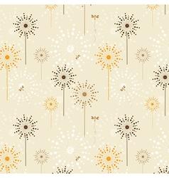 Flower seamless vector image