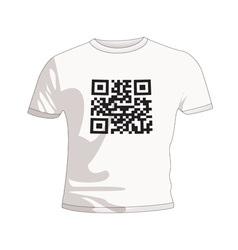 business qr code vector image
