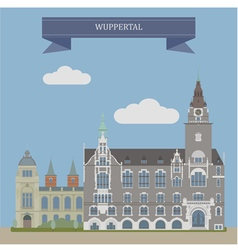 Wuppertal vector image vector image