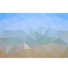 Abstract geometric rumpled triangular background vector image