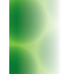 Abstract Green Squared Background vector image