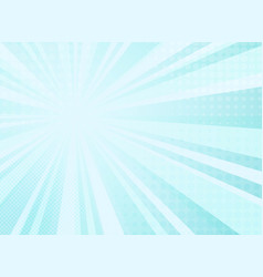 abstract sunny radiance pattern of comic halftone vector image