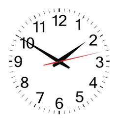 clock simple vector image